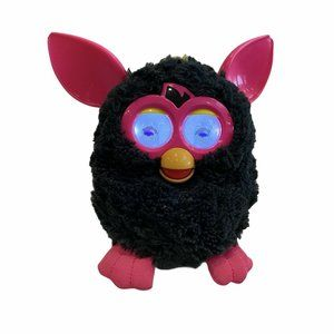 Hasbro Furby Punky Pink 2012 Black And Pink